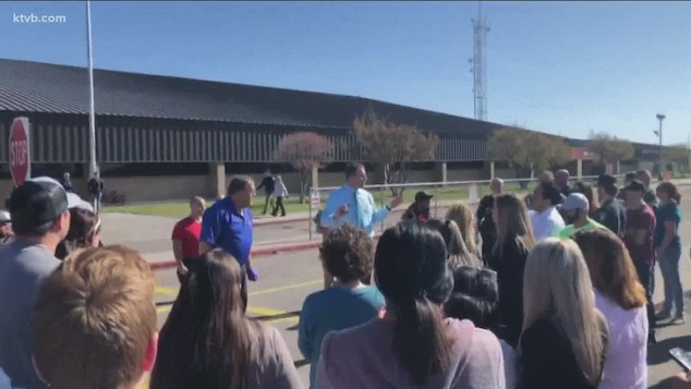 Girl in 6th grade opens fires on classmates at Idaho middle school injuring 3