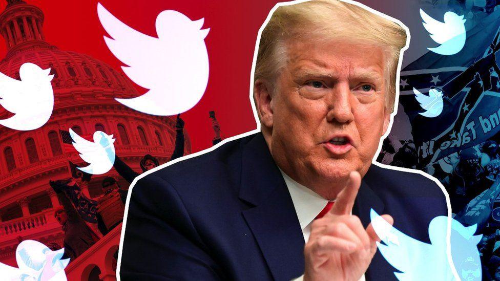 Twitter suspends account sharing Donald Trump