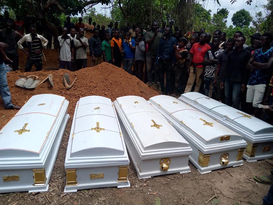 Victims of herdsmen attacks buried in Benue