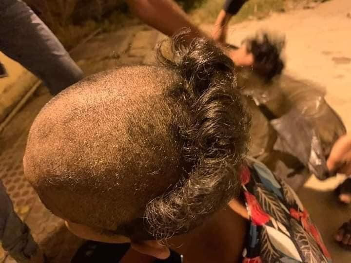 Police shave heads of 13 young men for harassing girls