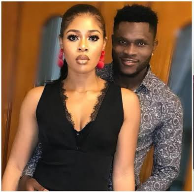 Footballer, Aaron Samuel, and wife, Chinwe, reportedly split 4 months after welcoming their second child