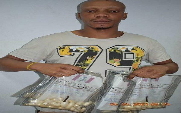 Italy bound 23-year-old man excretes 59 wraps heroin at Abuja airport (photo)