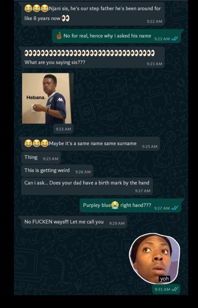Lady discovers her father who she thought was dead is still alive, after her friend posted his picture on WhatsApp