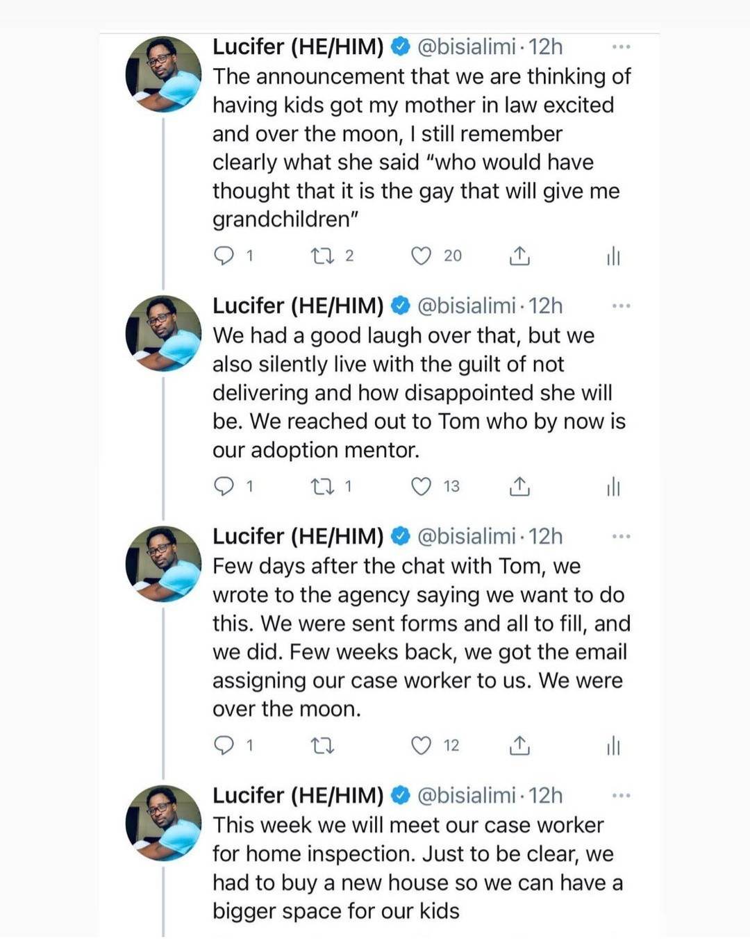 """""""A gay from Nigeria... now about to be a father"""" Bisi Alimi shares his interesting journey to fatherhood"""