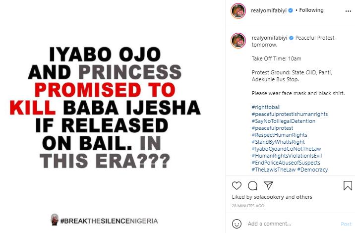 Rape case: Iyabo Ojo and Princess promised to kill Baba Ijesha if released -Yomi Fabiyi alleges