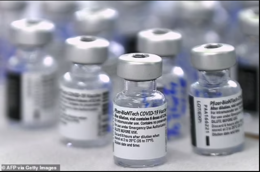 Woman, 23, ?is mistakenly given six doses of the Pfizer vaccine in one go?
