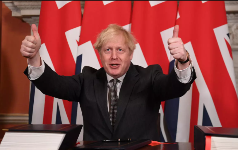 UK prime minister, Boris Johnson confirms up to 10,000 football fans will be allowed at sports stadiums from 17 May