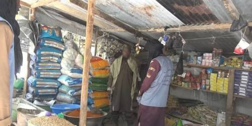 Boko Haram members distribute Ramadan packages and cash to residents of Borno and Yobe state (photos)