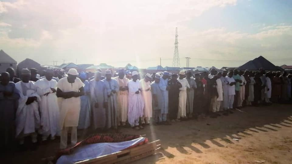 Update: Photos from the funeral of gallant police officer who died after being shot by bandits during gun duel in Kebbi