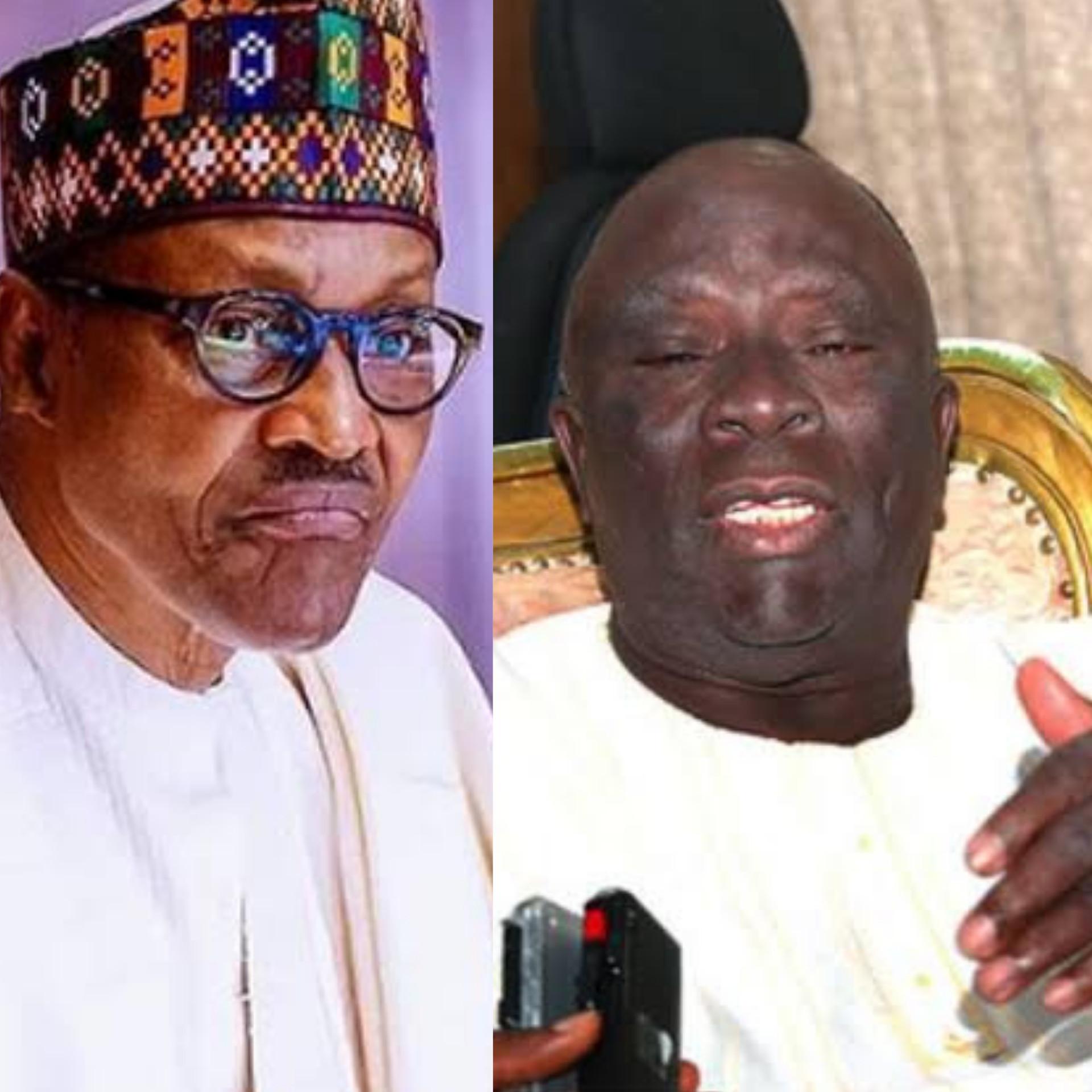Buhari still in office because Nigerians are over-tolerant of despots - Afenifere leader Ayo Adebanjo