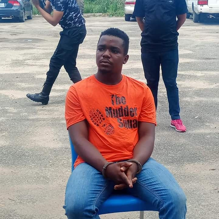 Police parade 20-year-old suspected killer of job seeker, Iniubong Umoren (photos)