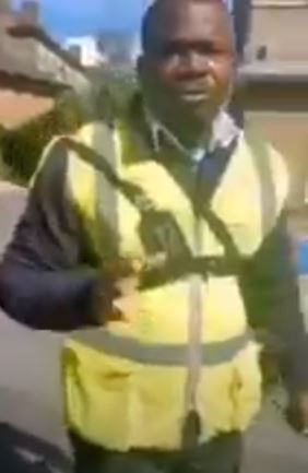 Nigerian man screams ?Jesus, Jesus? after being caught red-handed trying to meet a 15-year-old girl he was wooing in London (video)