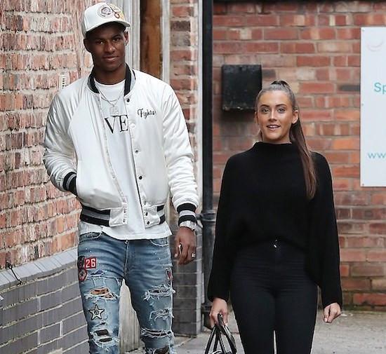 Marcus Rashford has reportedly split from his girlfriend
