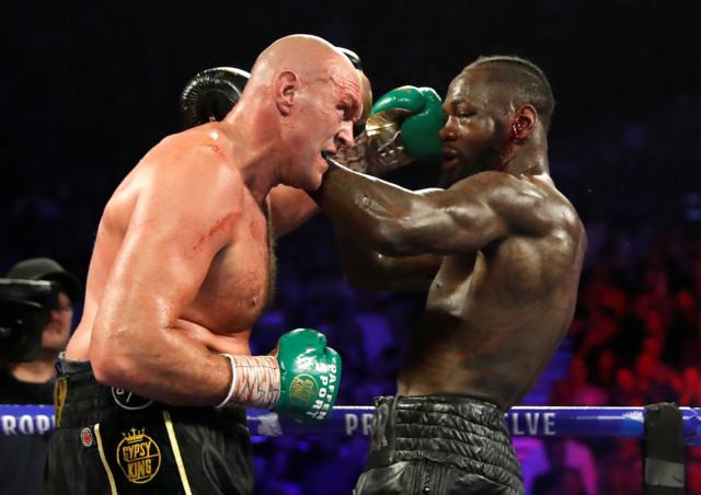 Update: Tyson Fury and Anthony Joshua could be forced into paying Deontay Wilder ?5.65m?to step-aside