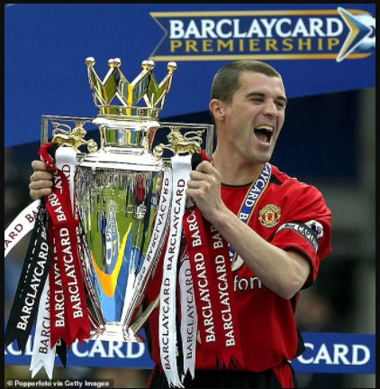 Manchester United icon, Roy Keane named fourth player to be inducted into the Premier League