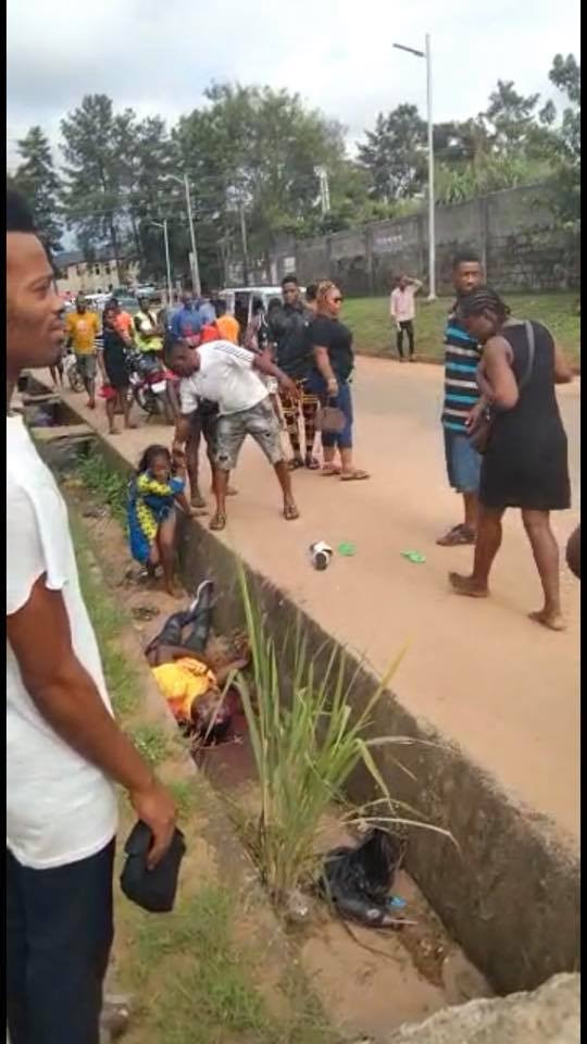 Imo police identifies slain man dumped in a gutter as a police sergeant (video)