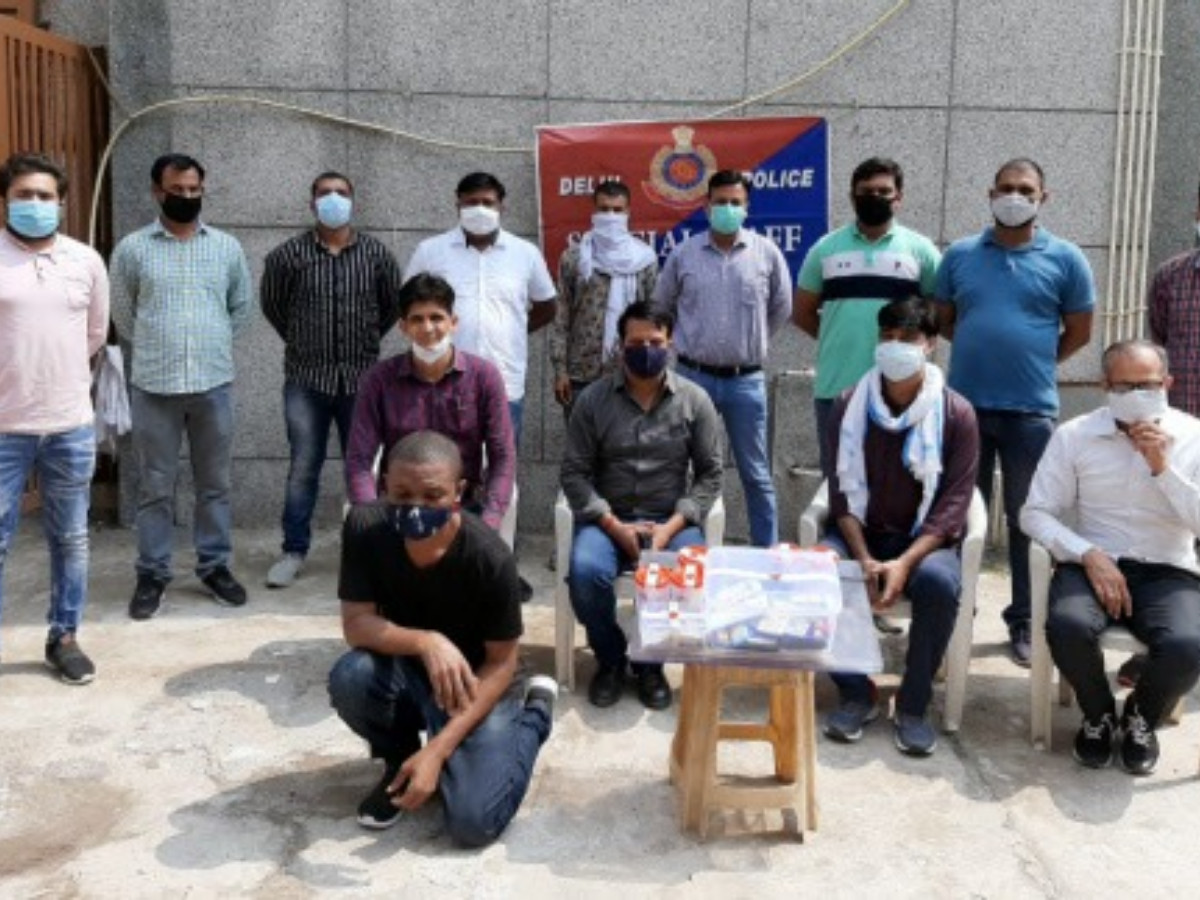 Nigerian man arrested in India for allegedly duping families of Covid-19 patients on pretext of selling injections