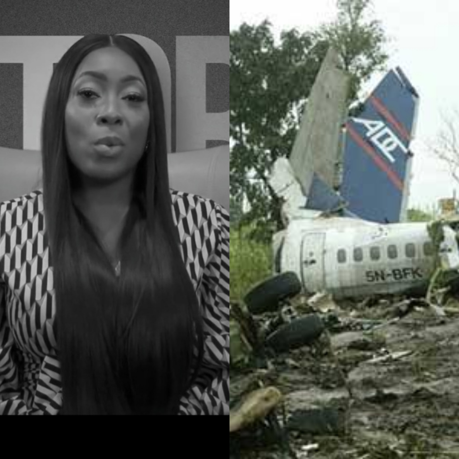 One of the survivors of the 2006 ADC plane crash shares chilling account of the crash (video)