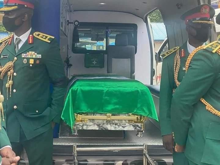 Again, Buhari Shock Nigerians As He Failed To Attend His COAS Burial