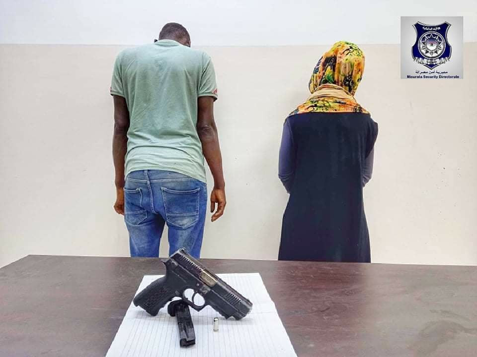 Nigerian man and woman arrested in Libya for allegedly killing a foreigner