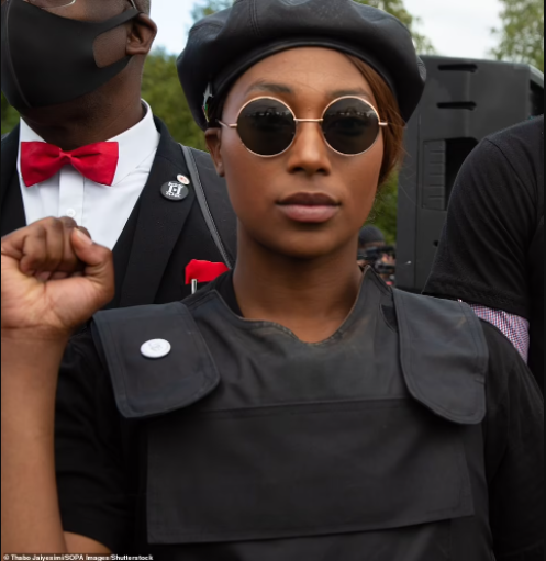"""UK Black Lives Matter activist, Sasha Johnson is fighting for her life after being shot in the head in London following """"numerous death threats"""""""
