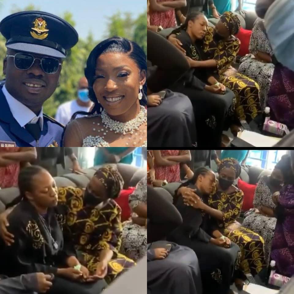 Military Plane Crash: VP's Wife, Dolapo Osinbajo Pays Condolence Visit To The Widow Of Flt Lt. Alfred Olufade