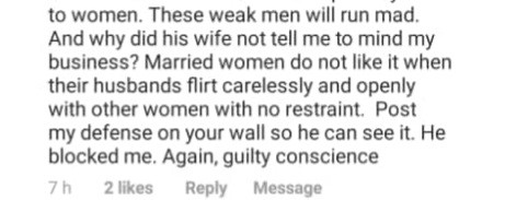 Alibaba calls out woman who reported to his wife that he
