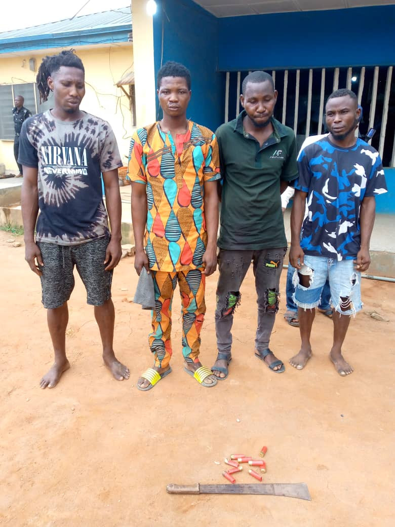 Four notorious landgrabbers arrested in Ogun (photo)