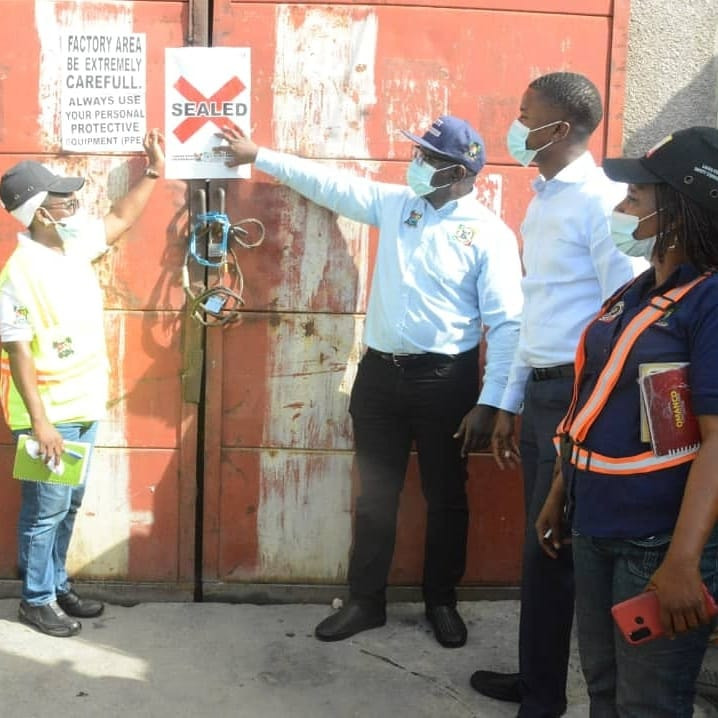 Update: Lagos State Govt seals Chinese company over death of 17-year-old worker