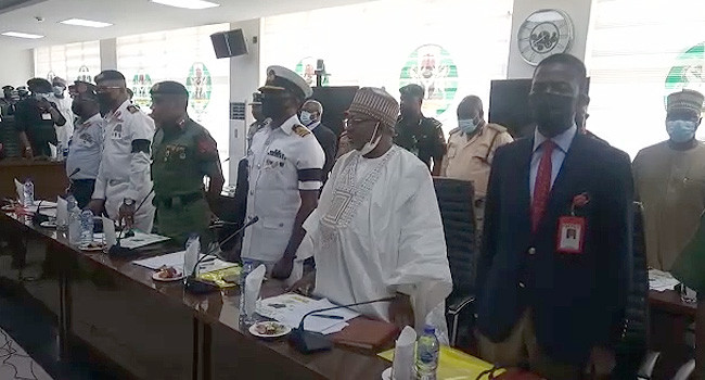 INEC holds meeting with security agencies