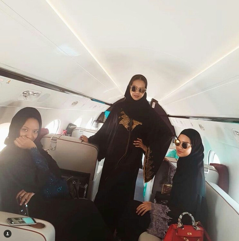 Zahra Buhari-Indimi and her sisters-in-law wear Abaya in solidarity with Kano varsity student harassed by male colleagues