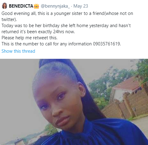 Girl found raped and murdered in Jos on her 16th birthday; Friends demand justice