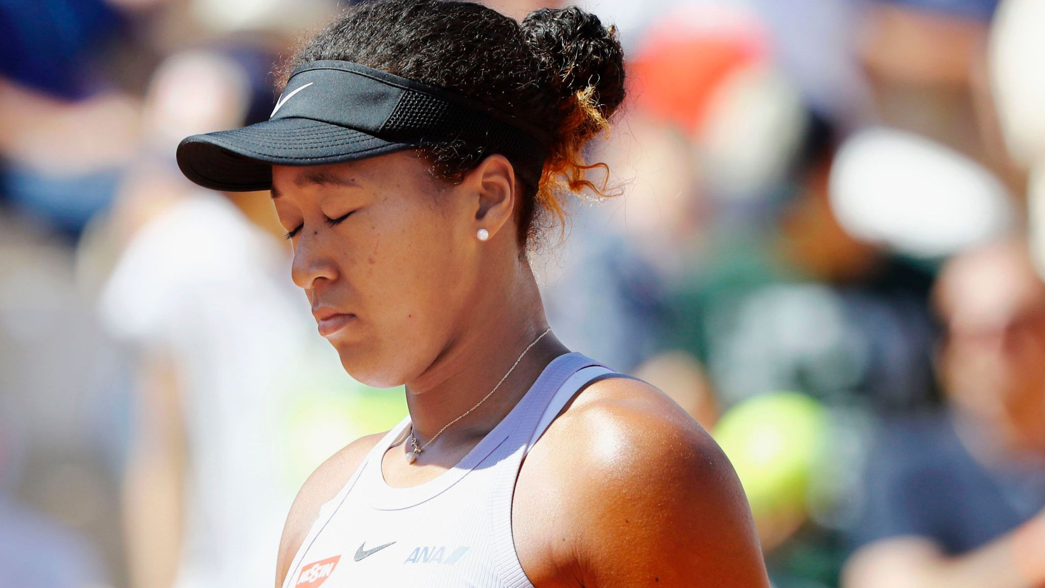 French Open: Naomi Osaka responds after she is fined $15k for skipping press conference