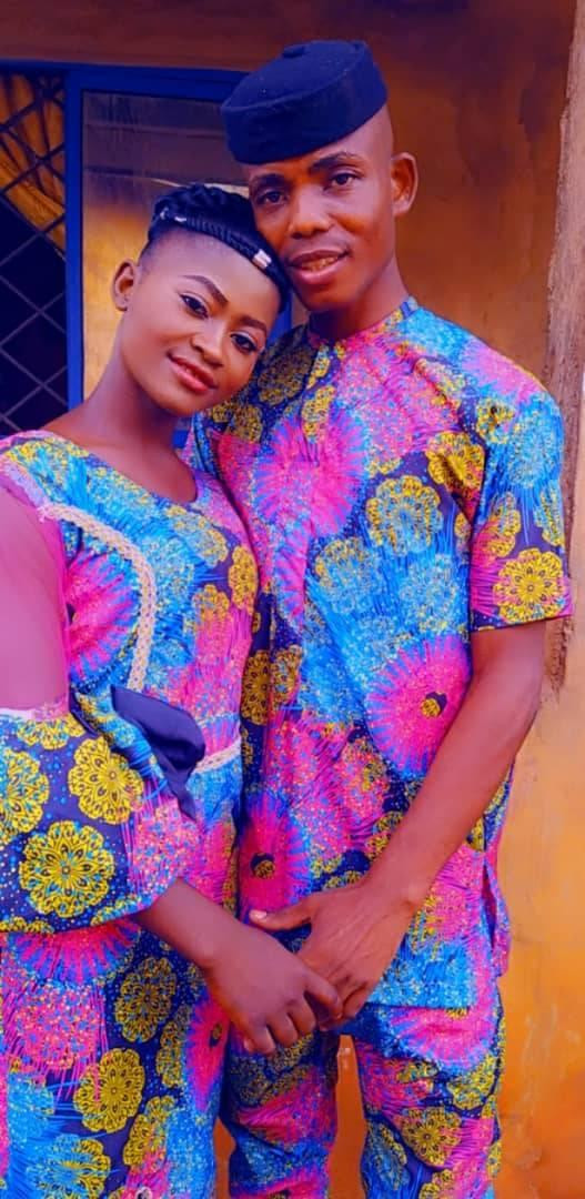 """""""We did as we can without going into debts"""" - Nigerian man says as he share photos from his low-key wedding"""