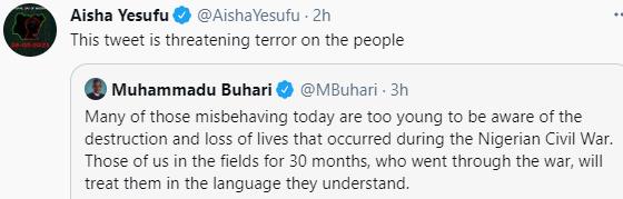Festus Keyamo responds to those accusing President Buhari of 'threatening' Nigerians