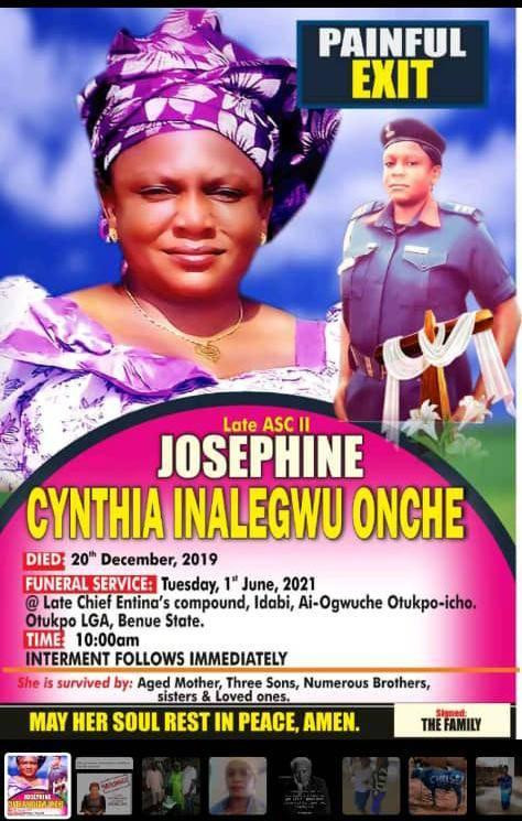 Fianc? arrested as body of NSCDC officer who went missing days to her wedding is found buried in shallow grave