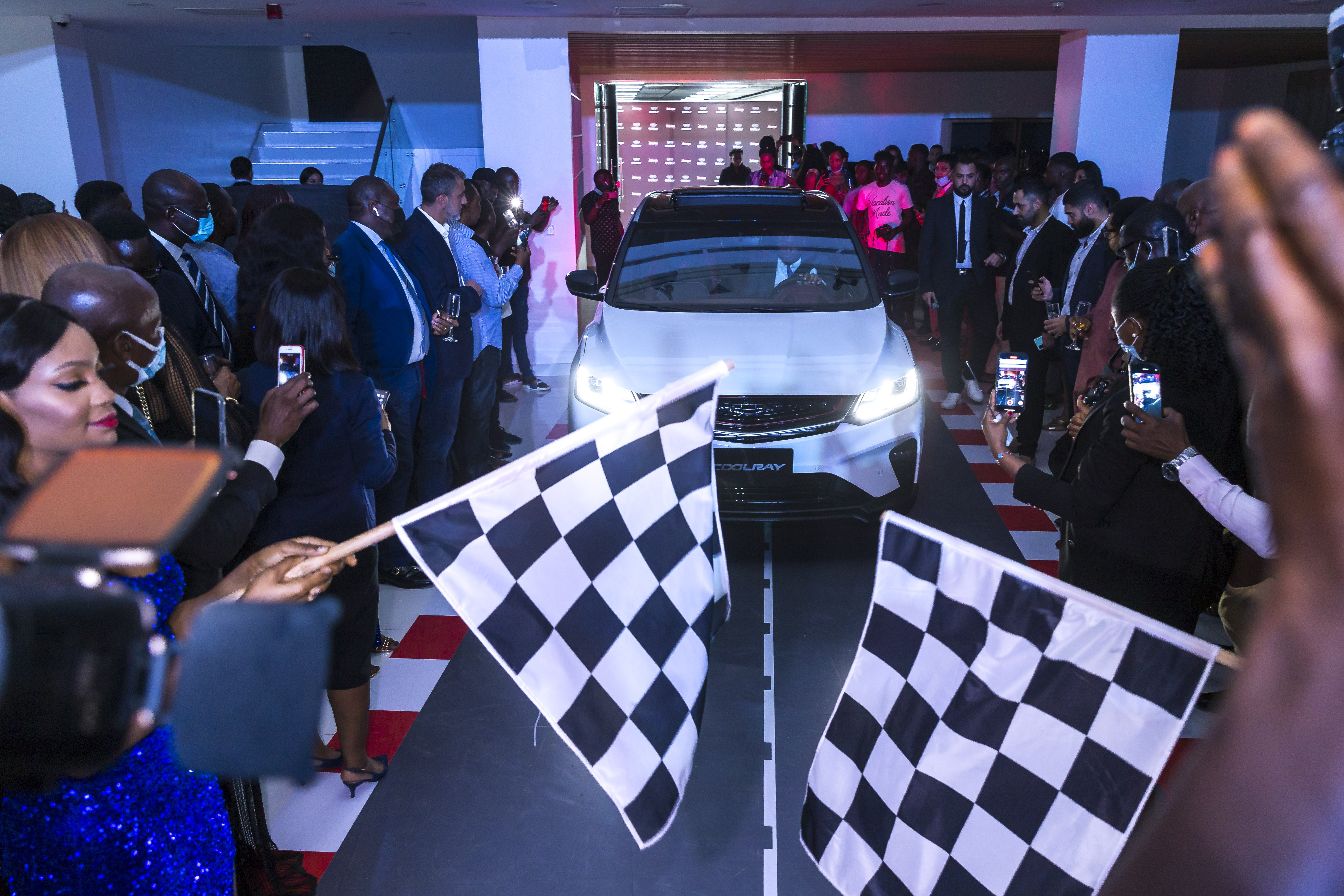 Geely Nigeria Introduces High-Tech SUV - Coolray