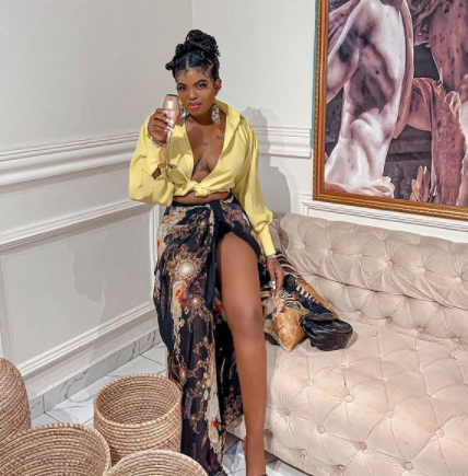 Instagram Slay Queen, Teju Pretty confronted by businesswoman she was allegedly owing N1.055m for over a year (video)