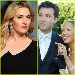 Actress, Kate Winslet gives startling reaction when asked about Jennifer Lopez and Ben Affleck