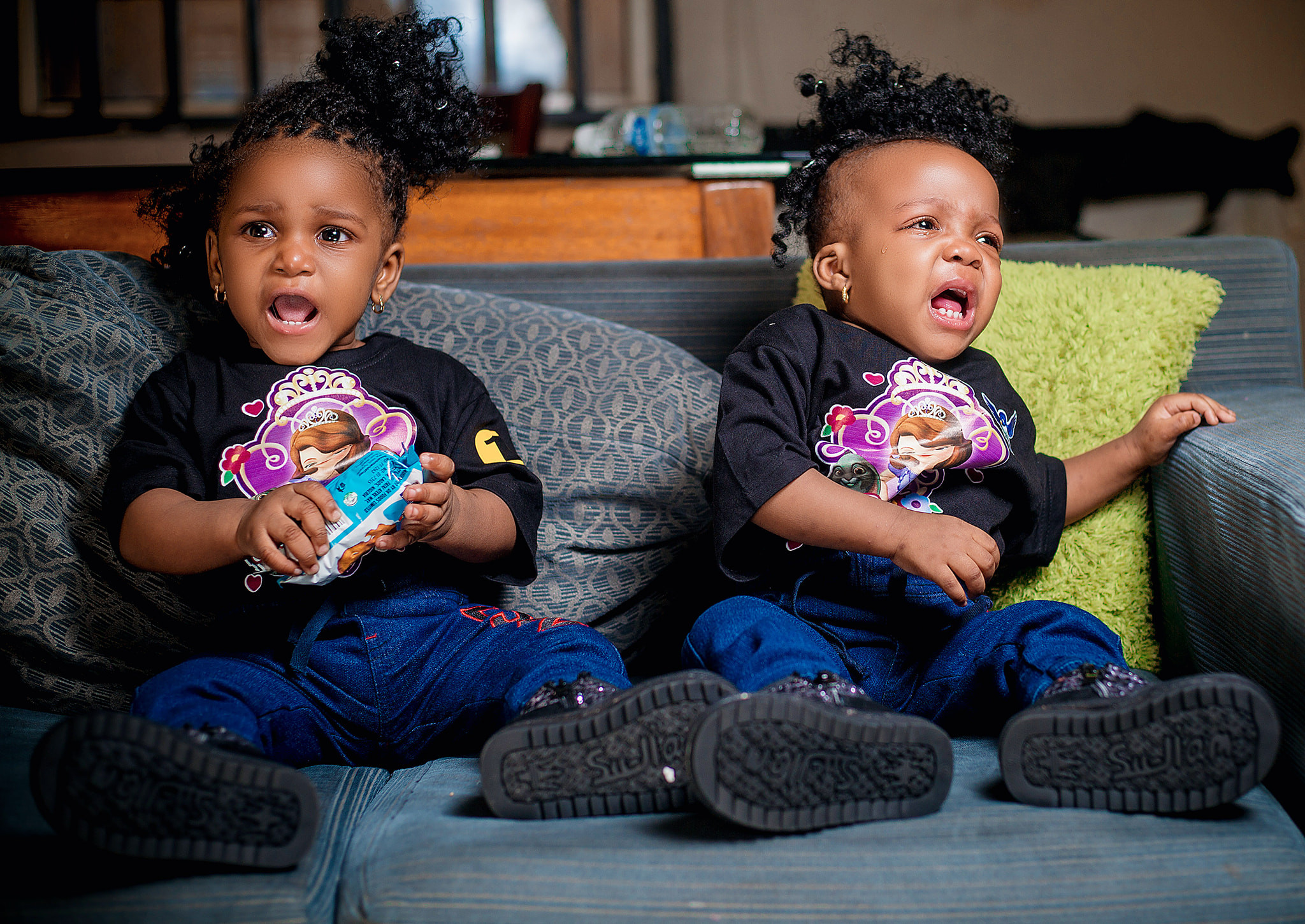 Nigerian couple celebrates their twins who they welcomed after 17 years of waiting