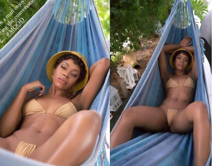 Swimsuit model, Michelle Okoro flaunts her bikini body in photos