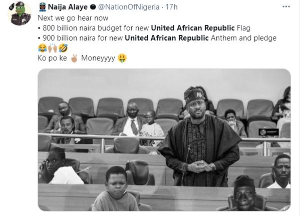 Nigerians react to proposed change of Nigeria