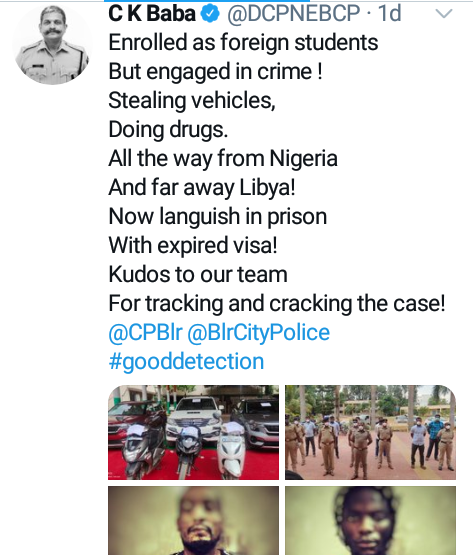 Nigerian man and Libyan accomplice arrested in India 3 months after they allegedly stole SUVs from showroom at knifepoint