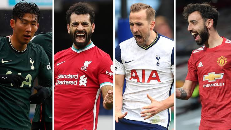 De Bruyne, Bruno Fernandes, Salah and Kane make the PFA Team of the Year (See full list)