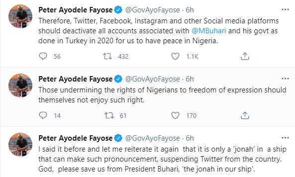 Deactivate Buhari