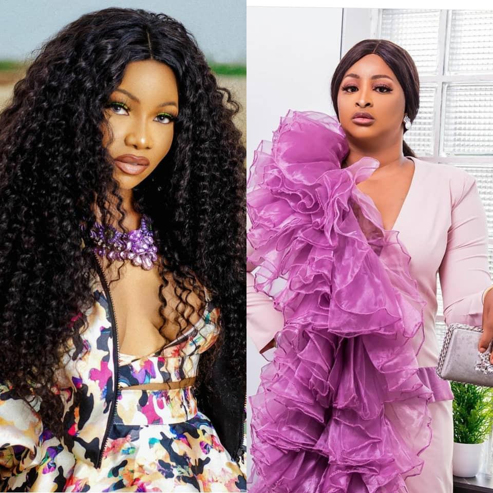 """God made her""- Comedian Etinosa tackles Nigerians who say BBN made Tacha"