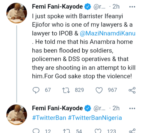 'Pray for me, you may not hear from me again' - Ifeanyi Ejiofor, lawyer for Nnamdi Kanu/IPOB