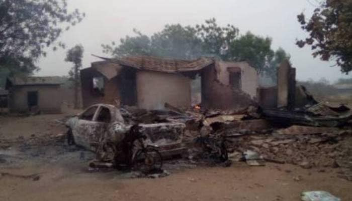 10 killed, vehicles, houses, petrol station razed as suspected Fulani herdsmen attack Igangan community