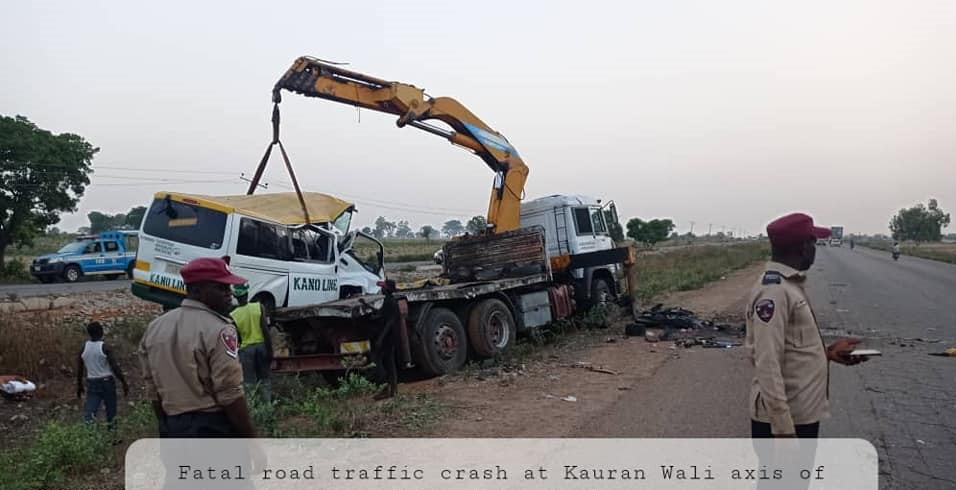 Update: Kaduna State Govt confirms death of wedding guests, others in fatal car crash along Zaria-Kano road
