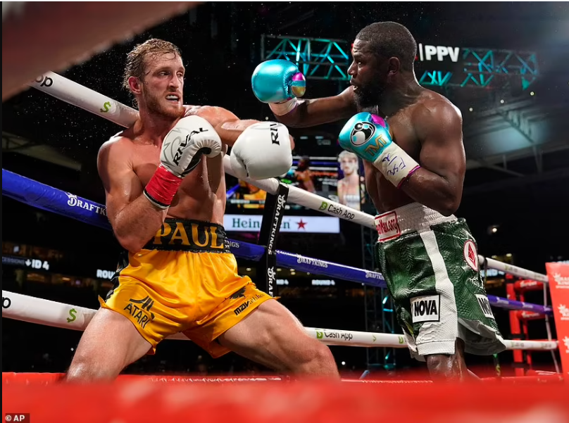 Logan Paul survives eight-round fight against Floyd Mayweather with no knockout in their exhibition boxing match